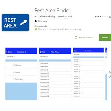 rest area finder rest area finder leaf peeper app travel travel and journey