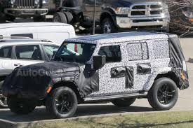 acid yellow jeep details on the 2018 jeep wrangler leak ahead of its debut