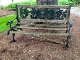 Outdoor Garden Bench Plans by Best 25 Wooden Garden Benches Ideas On Pinterest Craftsman