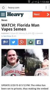 Florida Man Meme - florida man vapes semen florida man know your meme