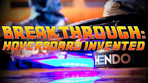 lexus hoverboard footage breakthrough u0027back to the future u0027 hoverboard invented youtube