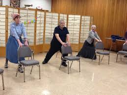 Armchair Yoga For Seniors Congregation Schomre Israel