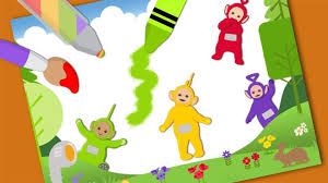 holiday coloring pages teletubbies coloring pages free