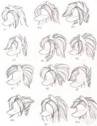 how to draw furry hair google search fursuit pinterest