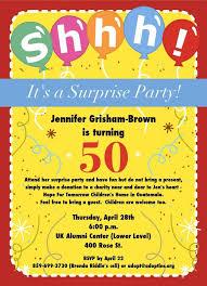 surprise 50th birthday invitations surprise 50th birthday