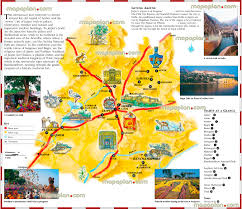 New Delhi India Map by Jaipur Maps Top Tourist Attractions Free Printable City