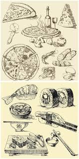 food vector hand drawn food vector free stock vector art u0026 illustrations