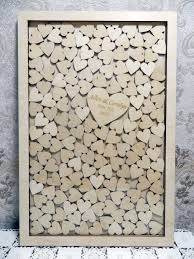 wedding wishes keepsake shadow box large drop box style wedding guest book guest book of the wood