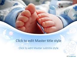 powerpoint baby template new born ba family powerpoint backgrounds