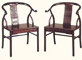 Oriental Chairs Oriental Round Back Chair Carved Hardwood With Plain Back Ming