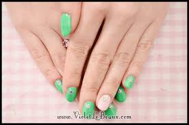 super easy summer nail art tutorial violet lebeaux tales of an