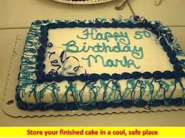 cake decorating ideas for 50th birthday 50th birthday cake ideas