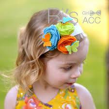 felt headbands retail felt butterflies and flowers headbands for photo prop