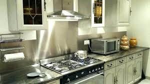 tole inox pour cuisine inox autocollant pour cuisine cracdence autocollante pour cuisine