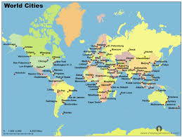 map of cities free world cities map cities map of world open source