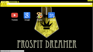 theme google chrome rabbit prospit dreamers chrome theme by that black rabbit on deviantart