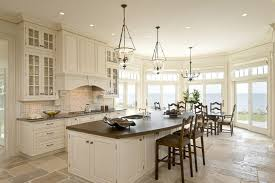 white kitchen cabinets with tile floor boston copper kitchen countertops traditional kitchen with
