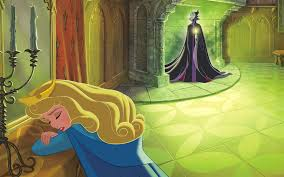 reading aurora sleeping beauty story book disney princess