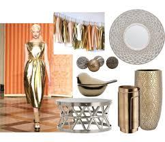metallic home decor fashion influence in home decor metallic storypiece