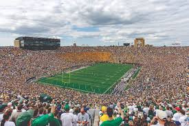 Notre Dame Stadium Map South Bend History And Happenings