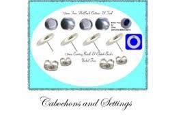 nickel free earrings australia button earring cover kit etsy au