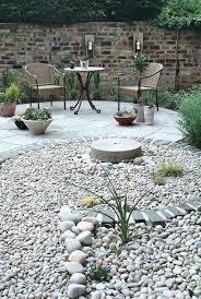 Desk Rock Garden Zen Garden Ideas Rocks Looking Back To The Circular Patio Zen