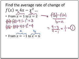 How To Find The Rate Of Change In A Table How To Find Rate Of Change In A Table College Algebra