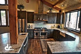 pole barn cabinets cabin and lodge