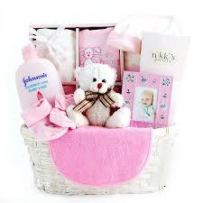 baby basket gifts hunny bunny s new baby gift basket hayneedle