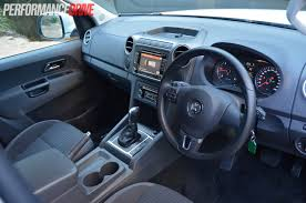 volkswagen amarok interior 2014 volkswagen amarok highline tdi420 dash