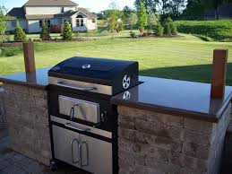 Patio Grills Built In Klein U0027s Lawn U0026 Landscaping Hardscapes Built In Grills