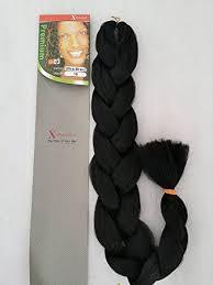xpressions braiding hair box braids 30 x pression premium original ultra braid colour 1b amazon co uk