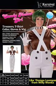 Oompa Loompa Costume Women U0027s Brown Candy Maker Costume Oompa Loompa U0027s Costume