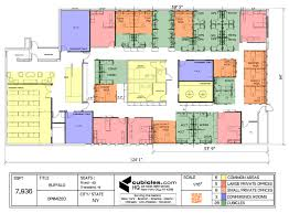 office floor plan with office floor plans for correct planning