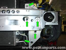 pelican technical article mini r53 front bumper removal