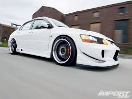 white mitsubishi lancer 2006 mitsubishi lancer evolution ix mr import tuner magazine