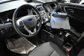 Ford Taurus Interior Goodbye Crown Victoria Hello Smaller But More Powerful Police