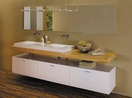 badezimmer unterschrank hã ngend doppeltes waschbecken aufsatz rechteckig keramik bettebowl