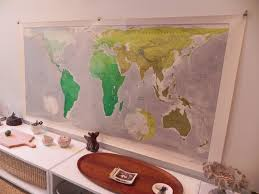 True Size World Map by