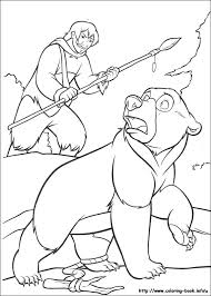 bear coloring picture