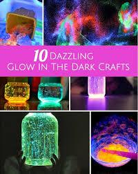 10 DAZZLING GLOW IN THE DARK CRAFTS  DIY  Pinterest  Crafts