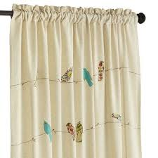 Shower Curtain Wire Applique Birds On A Wire Curtain Pier 1 Imports