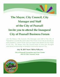 attn july 18 business forum meeting