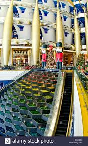 Interior Of Burj Al Arab Interior Of Pillars Abstract In The Worlds Only 7 Star Hotel The
