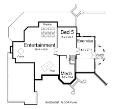 two floor plans surprising two house plan professional builder house plans