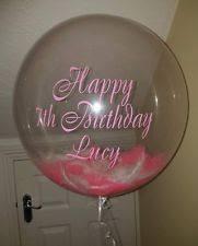 personalised birthday balloons personalised balloons ebay