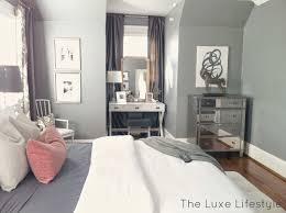 Normal Size Of A Master Bedroom The Luxe Lifestyle Master Bedroom Reveal