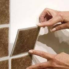 Achim Nexus Accent Terra X Self Adhesive Vinyl Wall Tile - Vinyl backsplash tiles