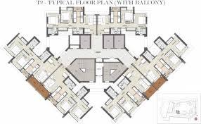 kalpataru paramount at balkum majiwada thane floor plan price