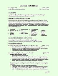 Resume Other Skills Examples by Entry Level Resume Objective 12 Good Sample Entry Level Resume